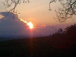 Sunset at Eden